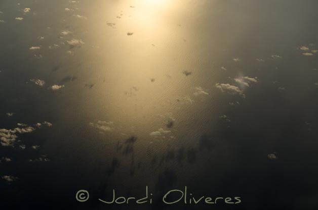 Núvols des de l'avió