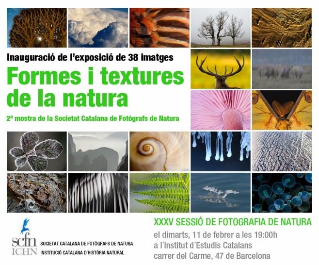 Formes textures Natura ANUNCI SCFN 2014